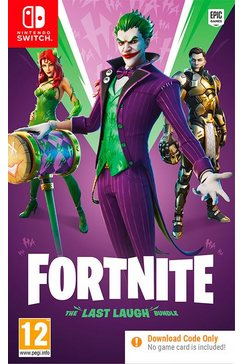 game nintendo switch fortnite: the last laugh bundle andere