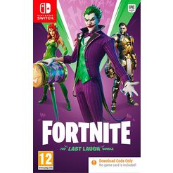game nintendo switch fortnite: the last laugh bundle multicolor