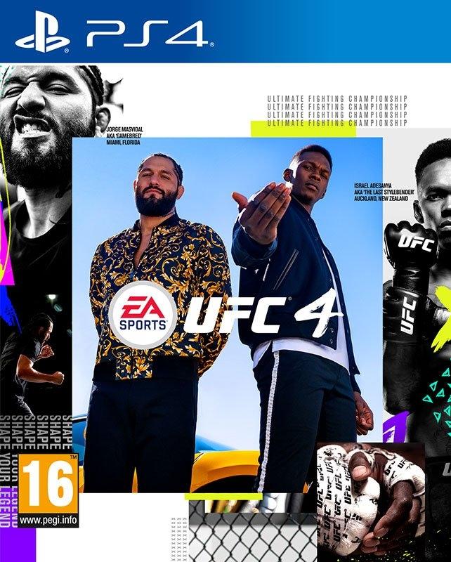 Playstation Game PS4 UFC 4 voordelig en veilig online kopen