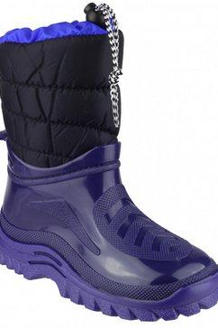 mirak laarzen »gefuetterte + flauschige kinder - fuer jugendliche« blauw