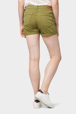 tom tailor denim short »cajsa shorts« groen