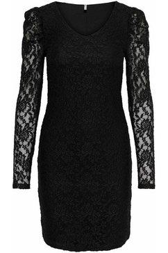 only kanten jurk »onlpoula« zwart