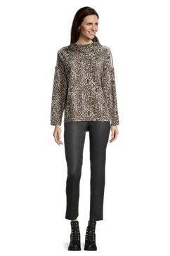 betty barclay sweatshirt »mit animalprint« bruin