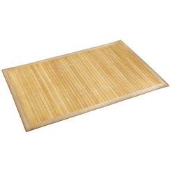 wenko antislipmat »bamboo« beige