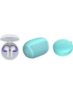 lg in-ear-hoofdtelefoon blauw