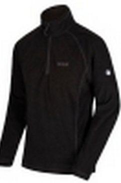 regatta fleecetrui »great outdoors herren montes fleece-pullover« zwart