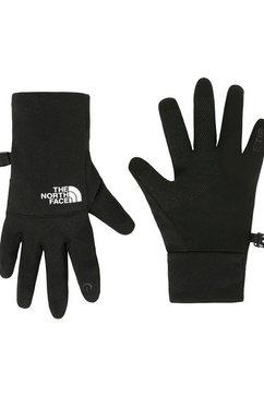 the north face fleece-handschoenen etip voor kinderen zwart