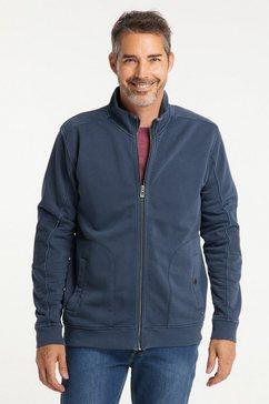 pioneer authentic jeans sweatvest blauw