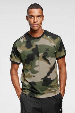 adidas originals t-shirt camo aop cali tee groen
