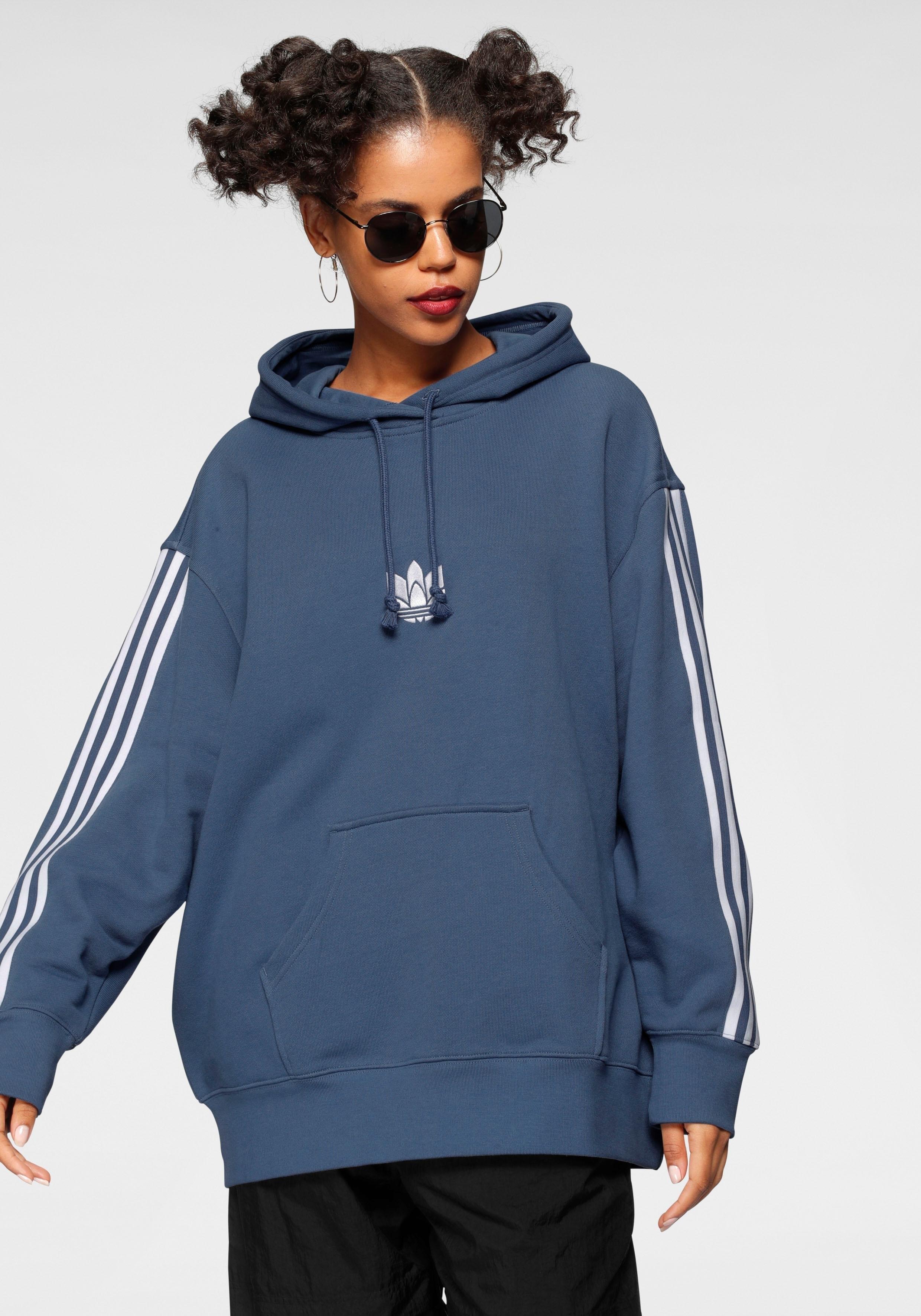 adidas Originals hoodie LOUNGEWEAR ADICOLOR 3D TREFOIL OVERSIZE nu online kopen bij OTTO