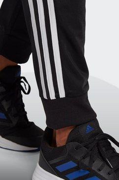 adidas performance trainingspak primegreen essentials 3-strepen (set, 2-delig) zwart