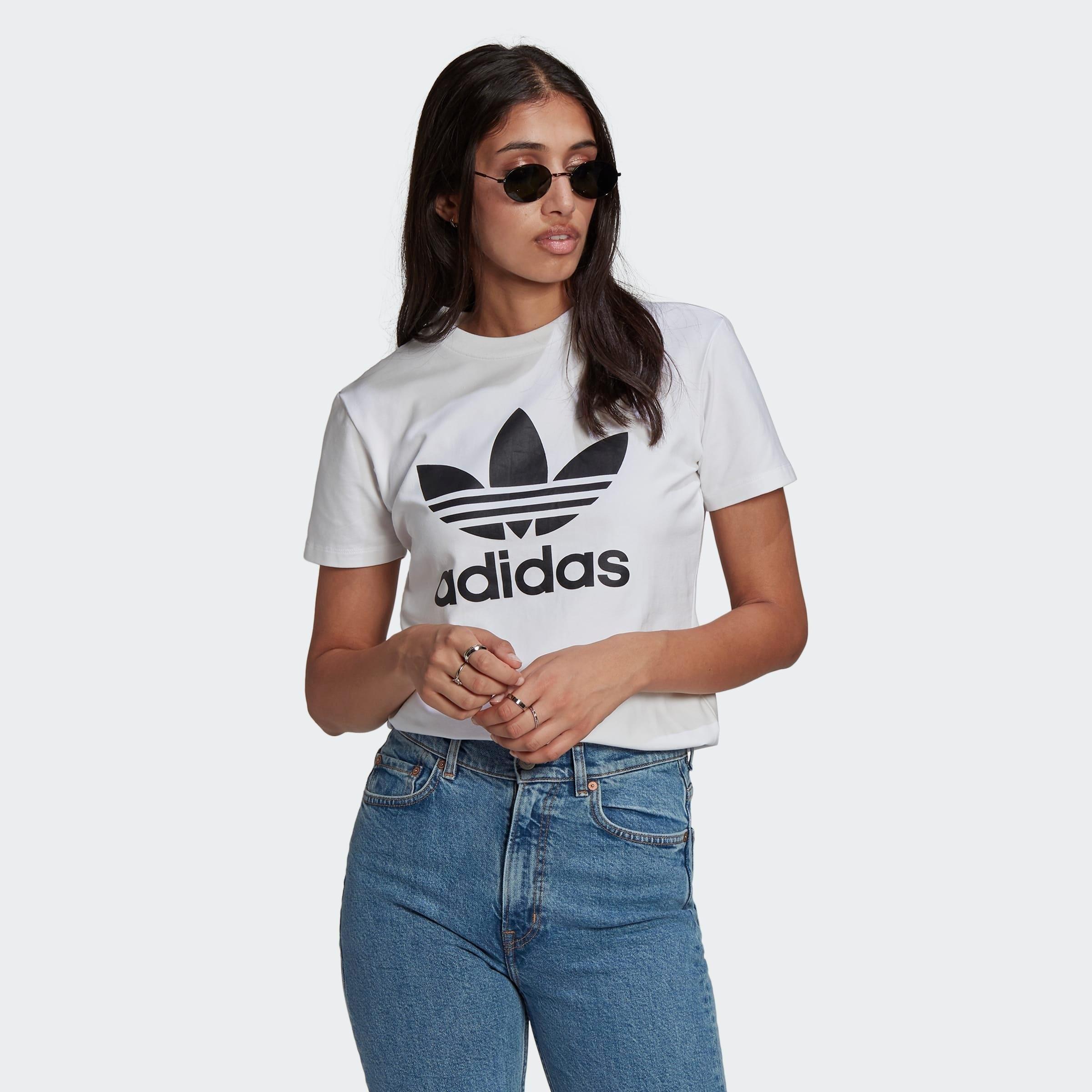 adidas Originals T-shirt ADICOLOR CLASSICS TREFOIL - gratis ruilen op otto.nl