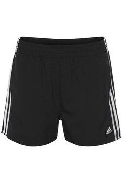 adidas short woven 3-stripes sport shorts zwart
