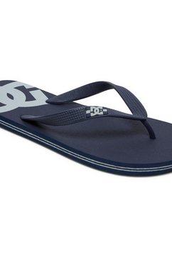 dc shoes teenslippers »spray« zwart