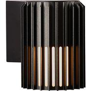 nordlux wandlamp matr duurzaam geanodiseerd aluminium zwart