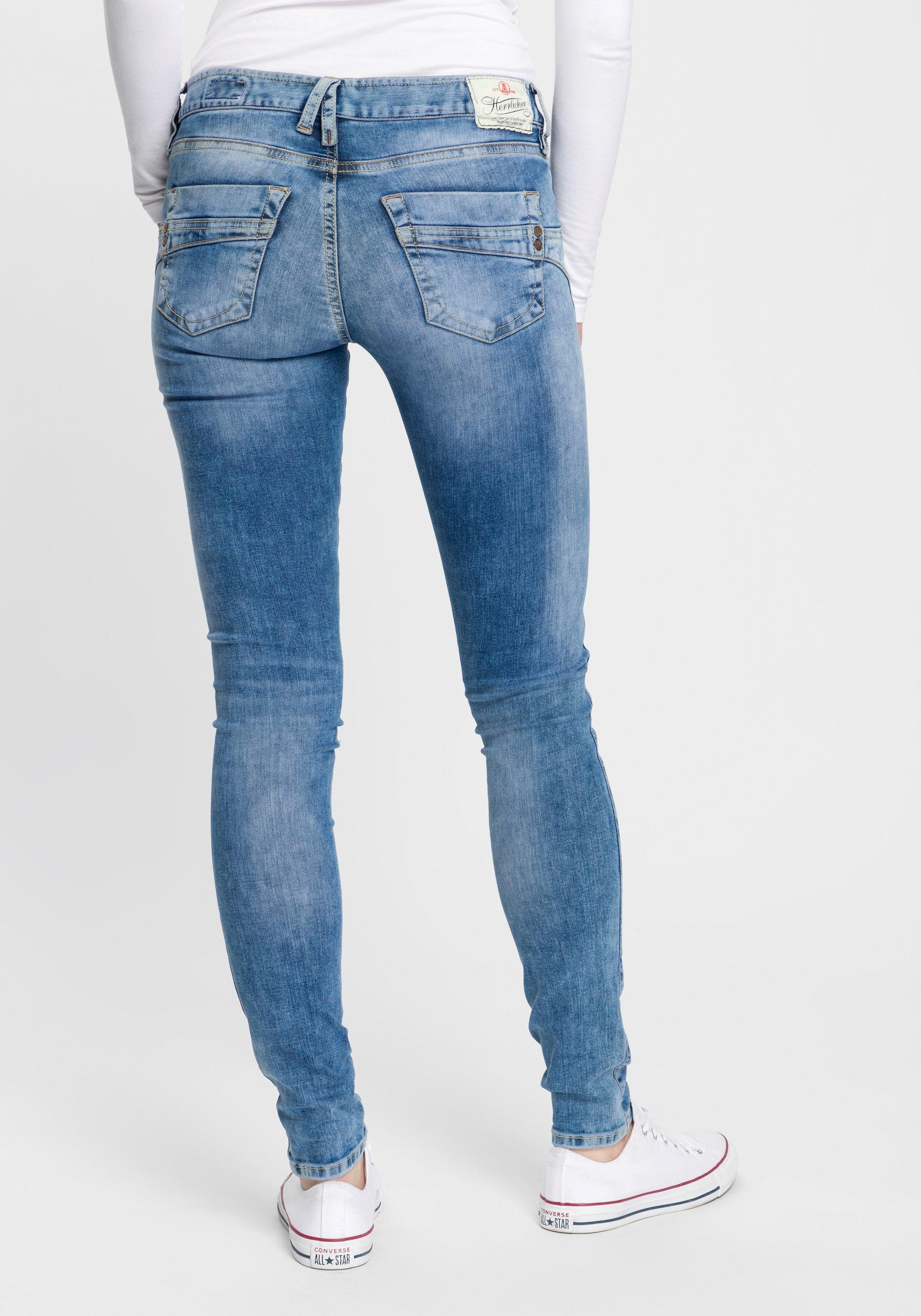 Herrlicher slim fit jeans »TOUCH SLIM DENIM« goedkoop op otto.nl kopen