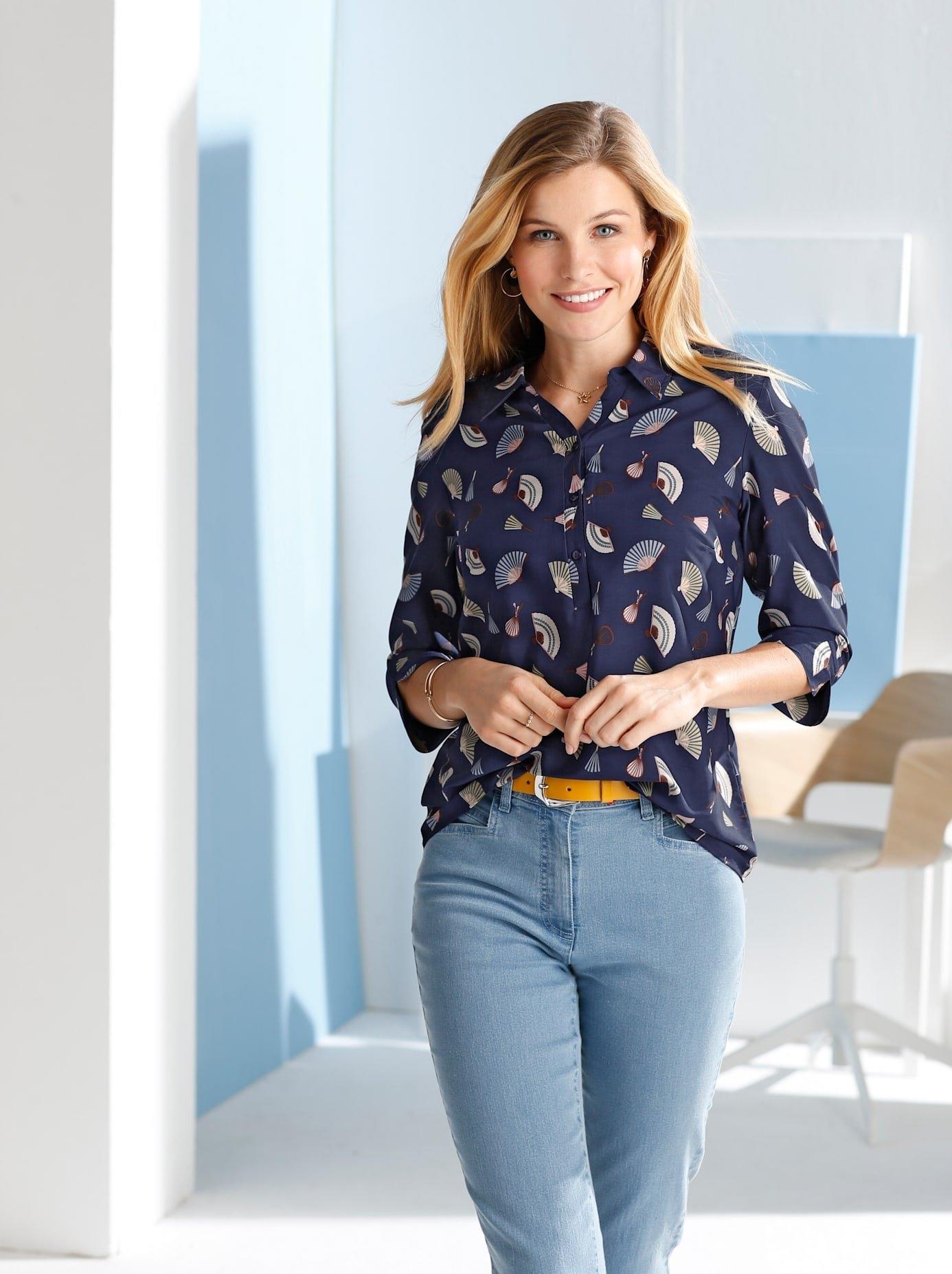 Classic Basics crêpe-blouse bestellen: 30 dagen bedenktijd