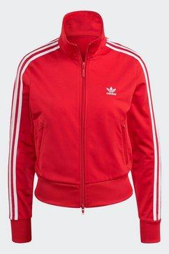 adidas originals trainingsjack adicolor classics firebird primeblue originals jacke rood