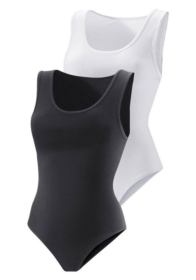 Mouwloze body Vivance Active set van 2