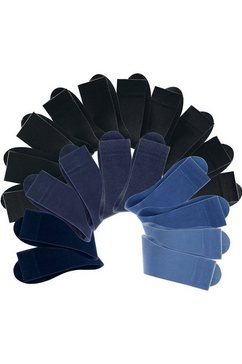 set van 20 paar sokken multicolor