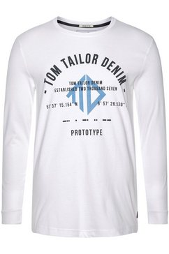 tom tailor denim shirt met lange mouwen