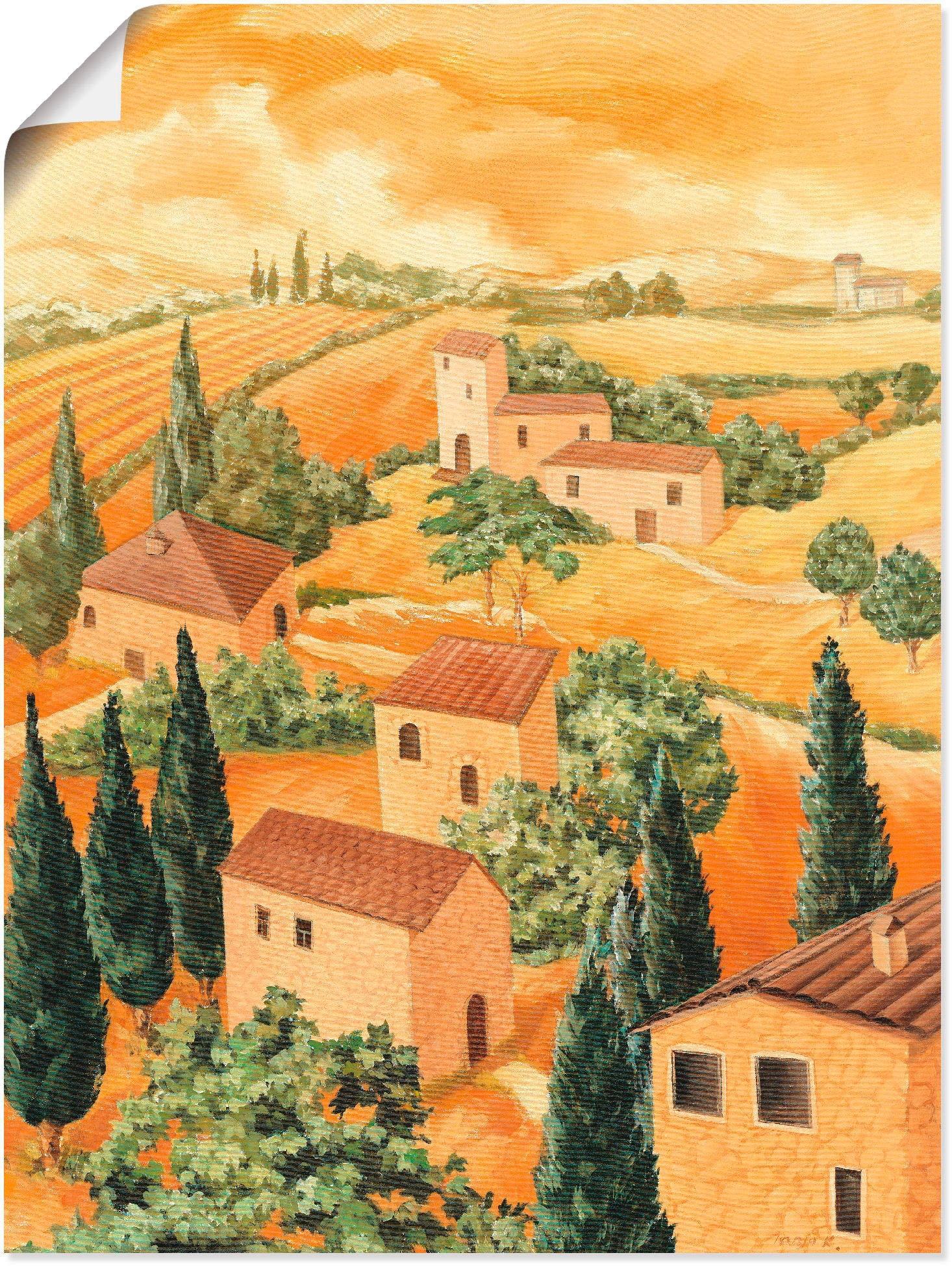Op zoek naar een Artland artprint »Landschaft Italien«? Koop online bij OTTO