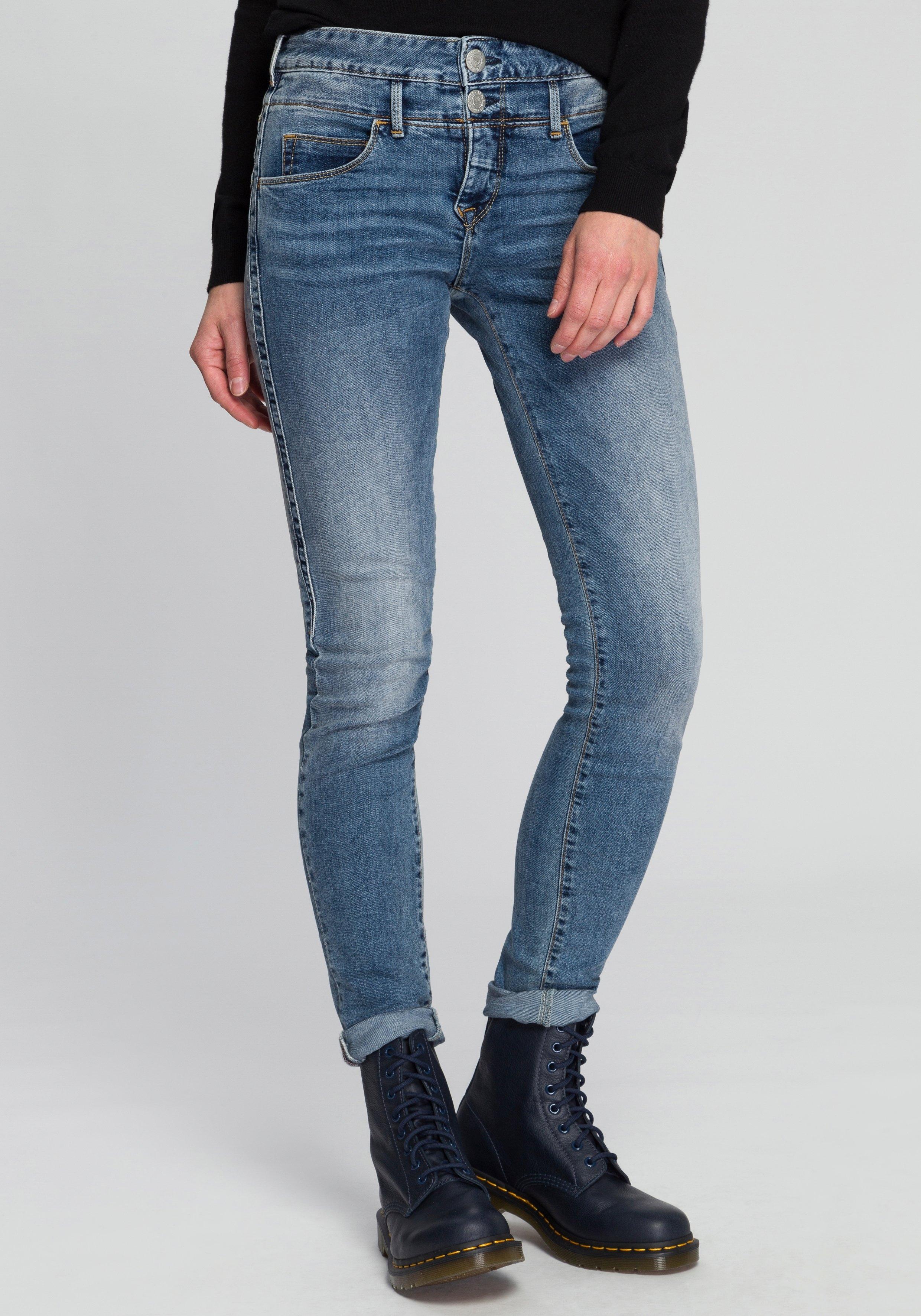 Herrlicher slim fit jeans »BABY SLIM« nu online kopen bij OTTO