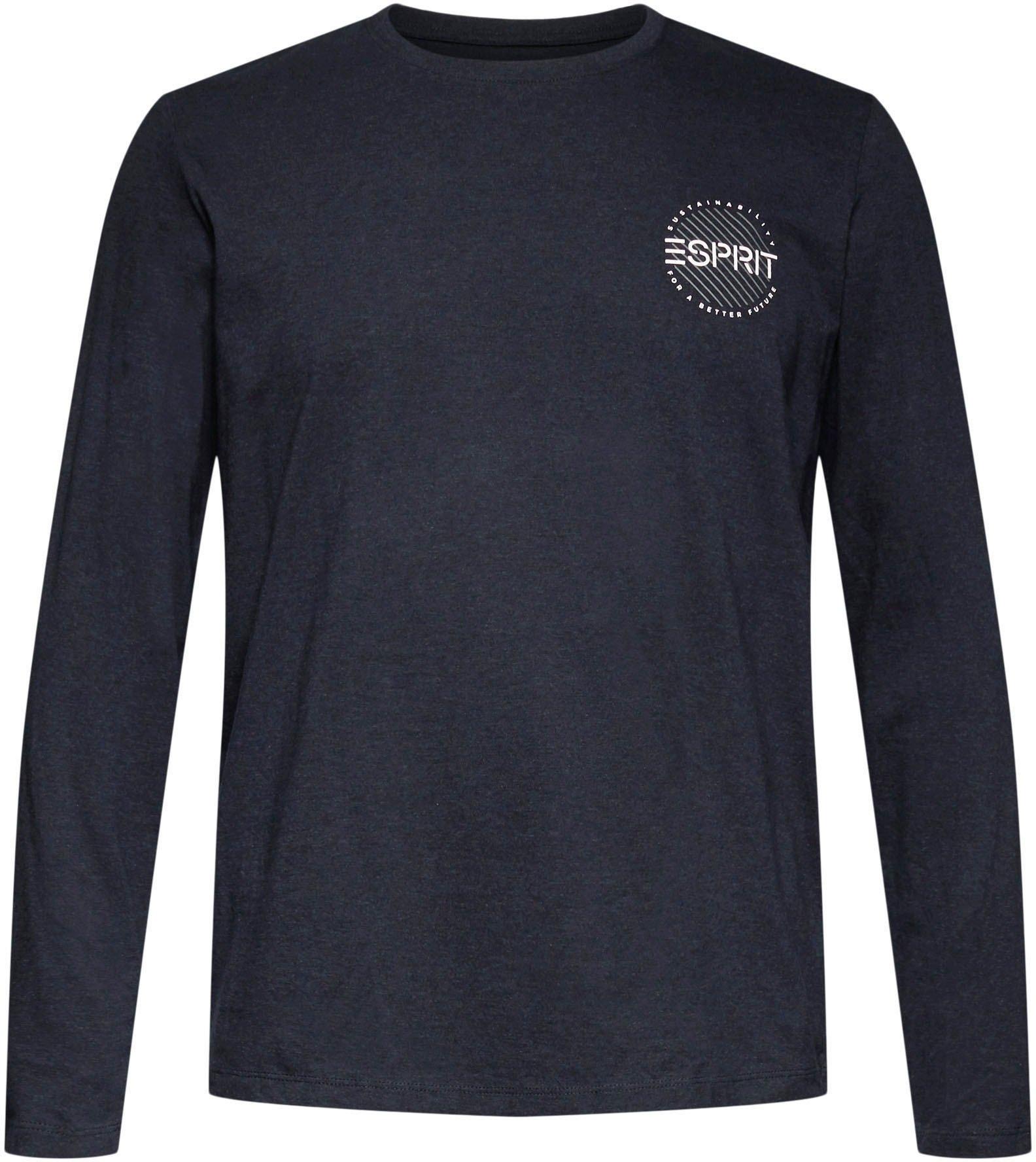 ESPRIT shirt met lange mouwen nu online bestellen