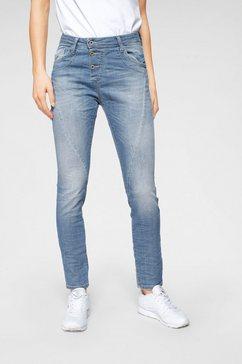 please jeans boyfriendjeans p78a original boyfriend-cut blauw