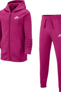 nike joggingpak »b nsw trk suit core bf« roze