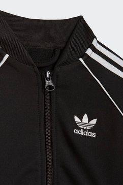 adidas originals trainingspak adicolor sst (set, 2-delig) zwart