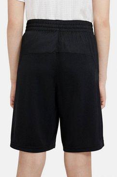 nike sweatshort nike dri-fit big kids' training shorts zwart