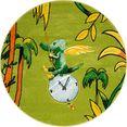 luettenhuett vloerkleed voor de kinderkamer tijd tabaluga powered by luettenhuett, geknoopt, kinderkamer groen