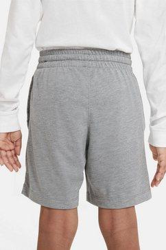 nike sportswear short nike sportswear big kids' jersey shorts grijs