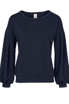 linea tesini by heine sweatshirt blauw