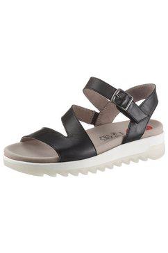 jana sandalen met uitneembaar voetbed zwart