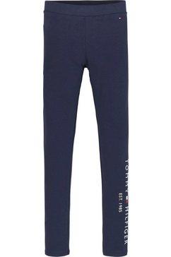 tommy hilfiger legging essential legging blauw