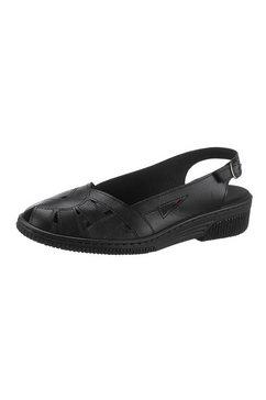 kiarteflex sandaaltjes zwart