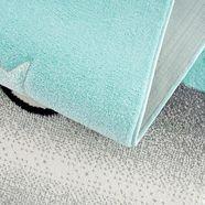 carpet city vloerkleed voor de kinderkamer »bueno 9378« blauw
