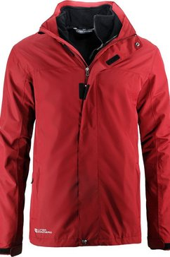 deproc active outdoorjack »lac boucher men« rood