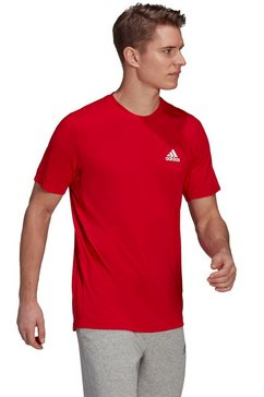 adidas t-shirt designed to move feelready t-shirt rood