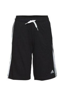 adidas performance short essentials 3-streifen shorts zwart