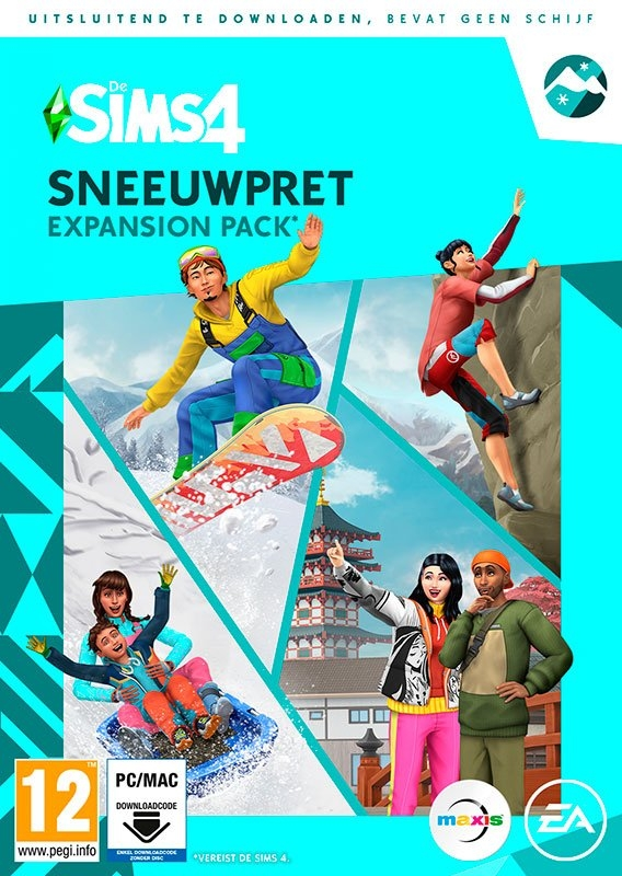 Electronic Arts Game PC/MAC De Sims 4: Sneeuwpret (Add-On) (Code in a Box) - verschillende betaalmethodes