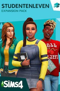 game pc-mac de sims 4: studentenleven (add-on) (code in a box) multicolor