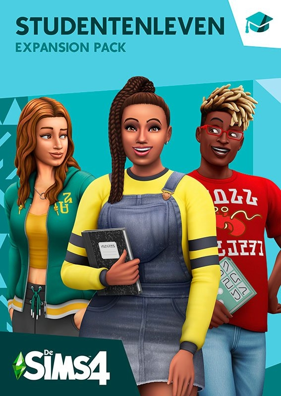Electronic Arts Game PC/MAC De Sims 4: Studentenleven (Add-On) (Code in a Box) nu online kopen bij OTTO