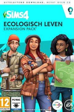 game pc-mac de sims 4: ecologisch leven (add-on) (code in a box) multicolor
