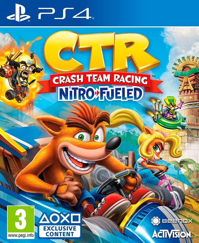 Playstation Game PS4 Crash Team Racing Nitro-Fueled - verschillende betaalmethodes