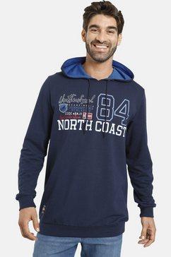 jan vanderstorm hoodie »nicklas« blauw