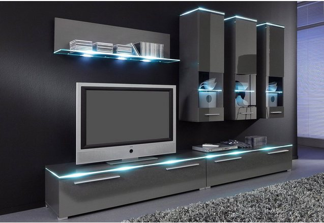 wandmeubel in de online shop otto. Black Bedroom Furniture Sets. Home Design Ideas