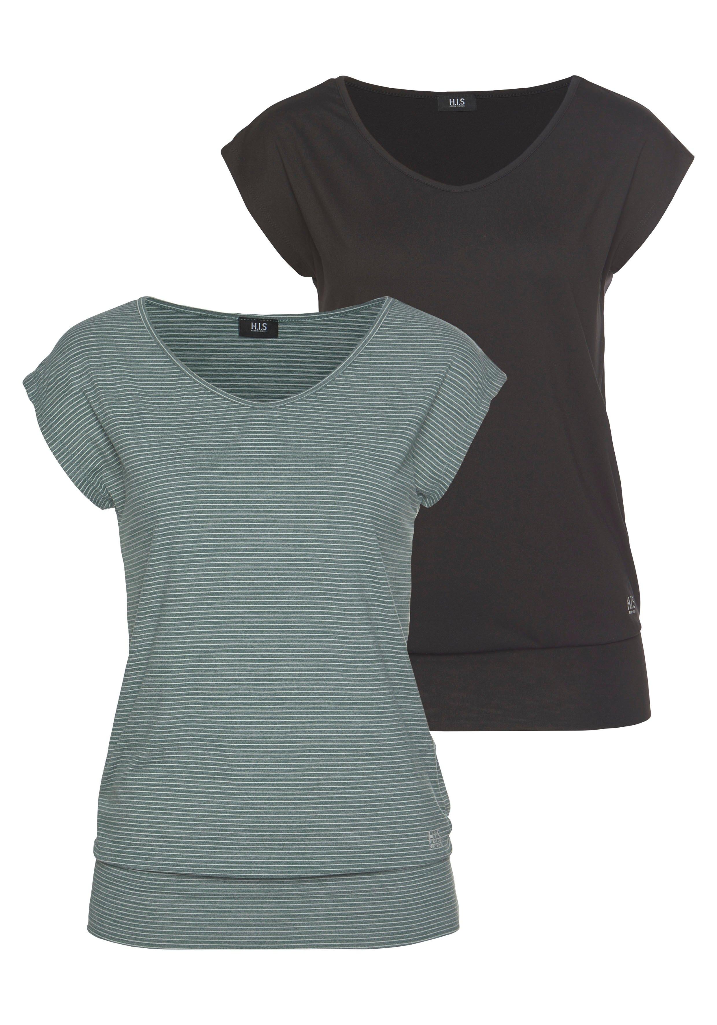 H.I.S functioneel shirt (set van 2) bij OTTO online kopen